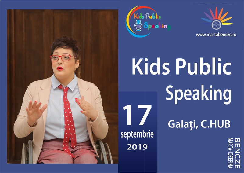 Programul Kids Public Speaking