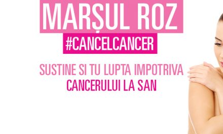 Orașul Galați se alătură MARȘULUI ROZ #CANCELCANCER