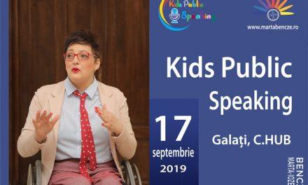 Programul Kids Public Speaking